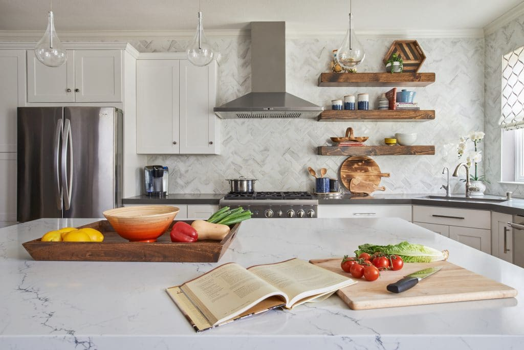 Riverton Remodel Kitchen Vignette Fl